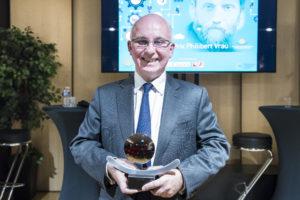 Etienne Leroi / 4 décembre 2018 : Remise du prix Philibert VRAU, par la fondation des entrepreneurs et dirigeants chrétiens. Paris (75), Paris.