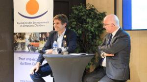 de gauche à droite: Yann Bucaille et Etienne Leroi