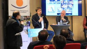 Patrick Lonchampt de RCF, Yann Bucaille et Etienne Leroi