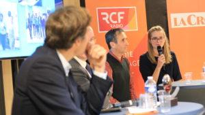 de gauche à droite: Yann Bucaille, Etienne Leroi, Jean-Marc Sémoulin et Aurélie Lavaud