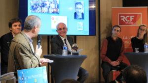 Nicolas Masson, membre du jury, Etienne Leroi et Jean-Marc Sémoulin