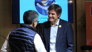 Stéphane Gardette, membre du jury et Yann Bucaille