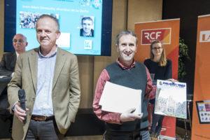 jean Marc Semoulin et Nicolas Masson / 4 décembre 2018 : Remise du prix Philibert VRAU, par la fondation des entrepreneurs et dirigeants chrétiens. Paris (75), Paris.